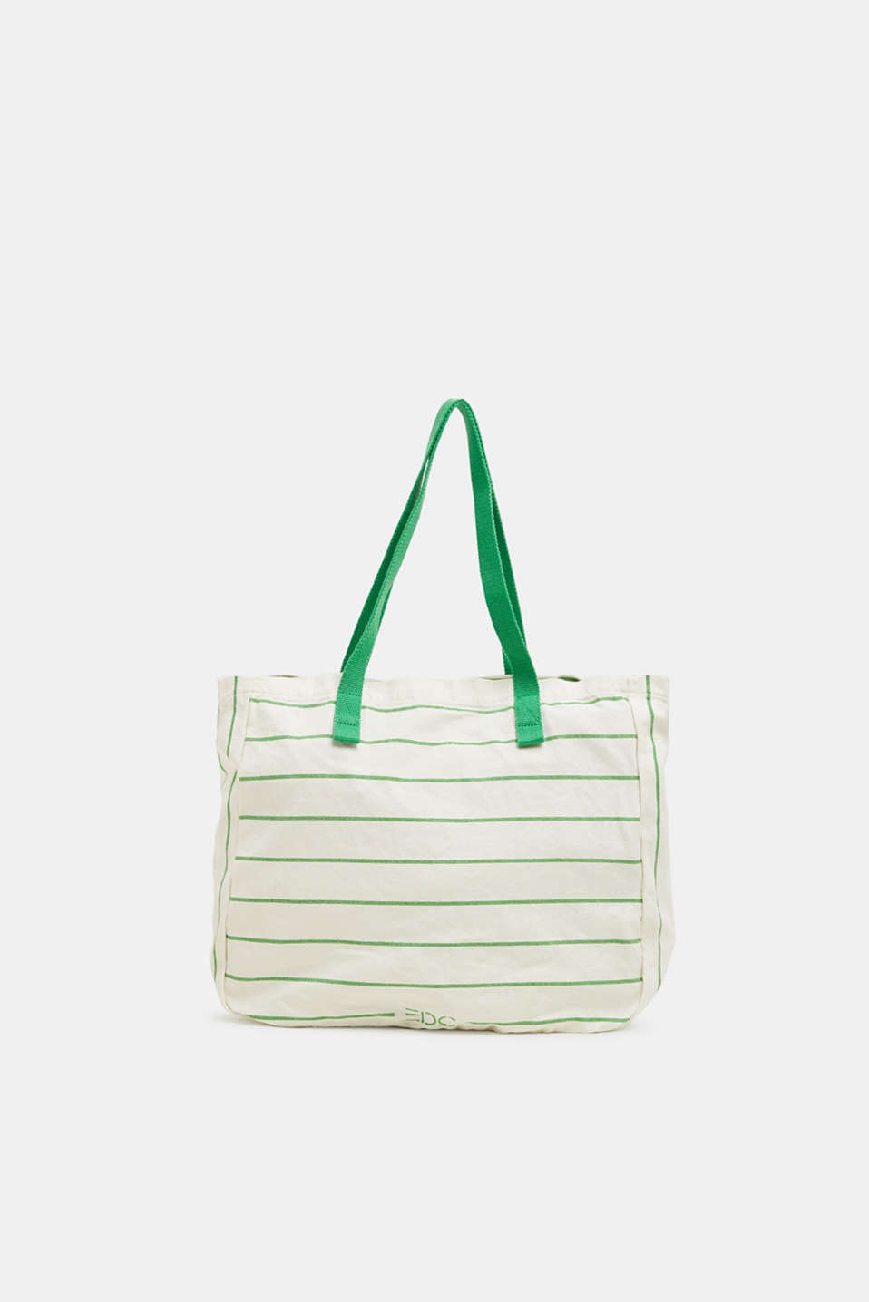 edc - Shopper in canvas a righe