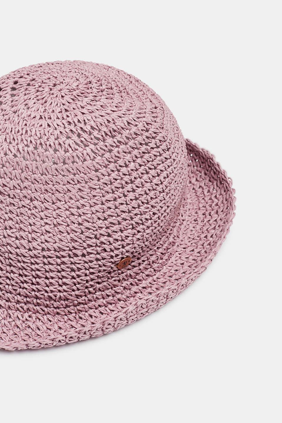 Hats/Caps, LIGHT PINK, detail image number 1