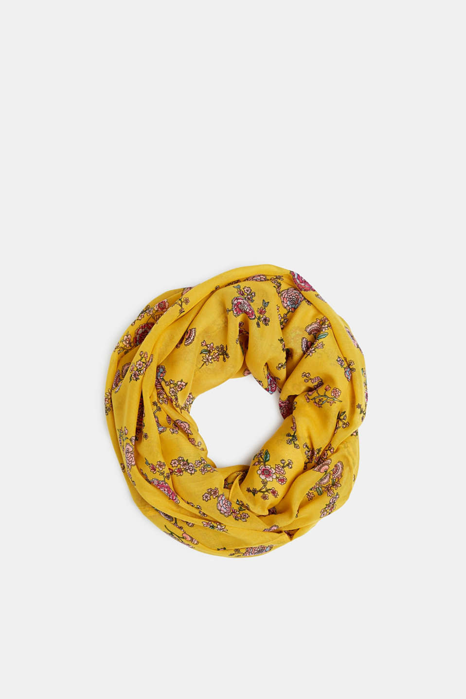 edc - Snood with floral print, recycled
