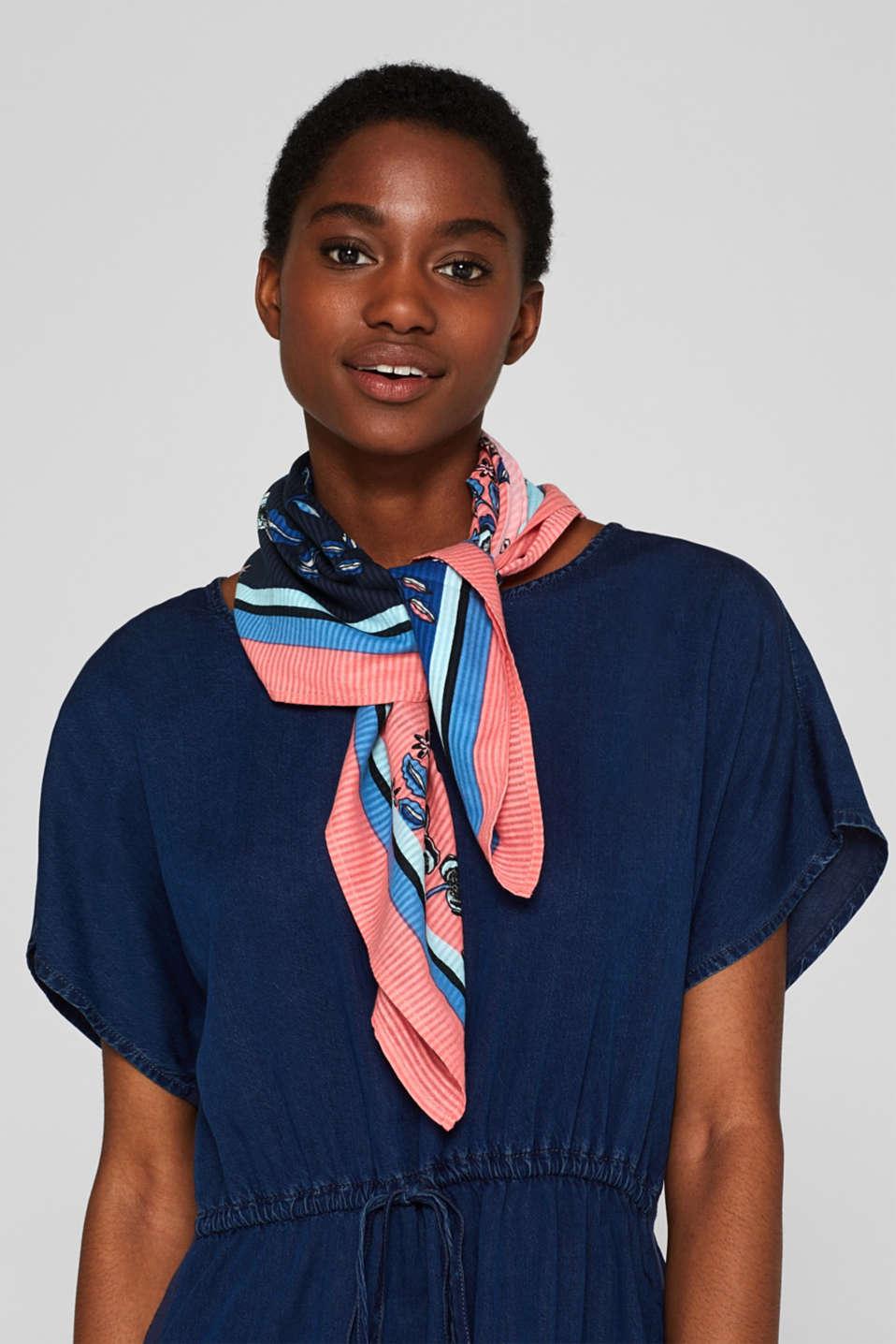 Shawls/Scarves, BLUE, detail image number 1