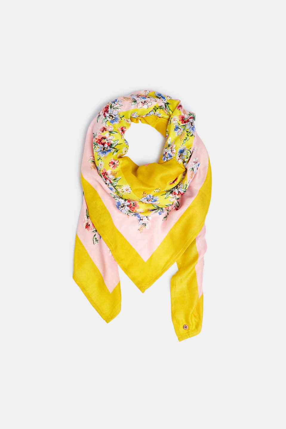 Shawls/Scarves, YELLOW, detail image number 0