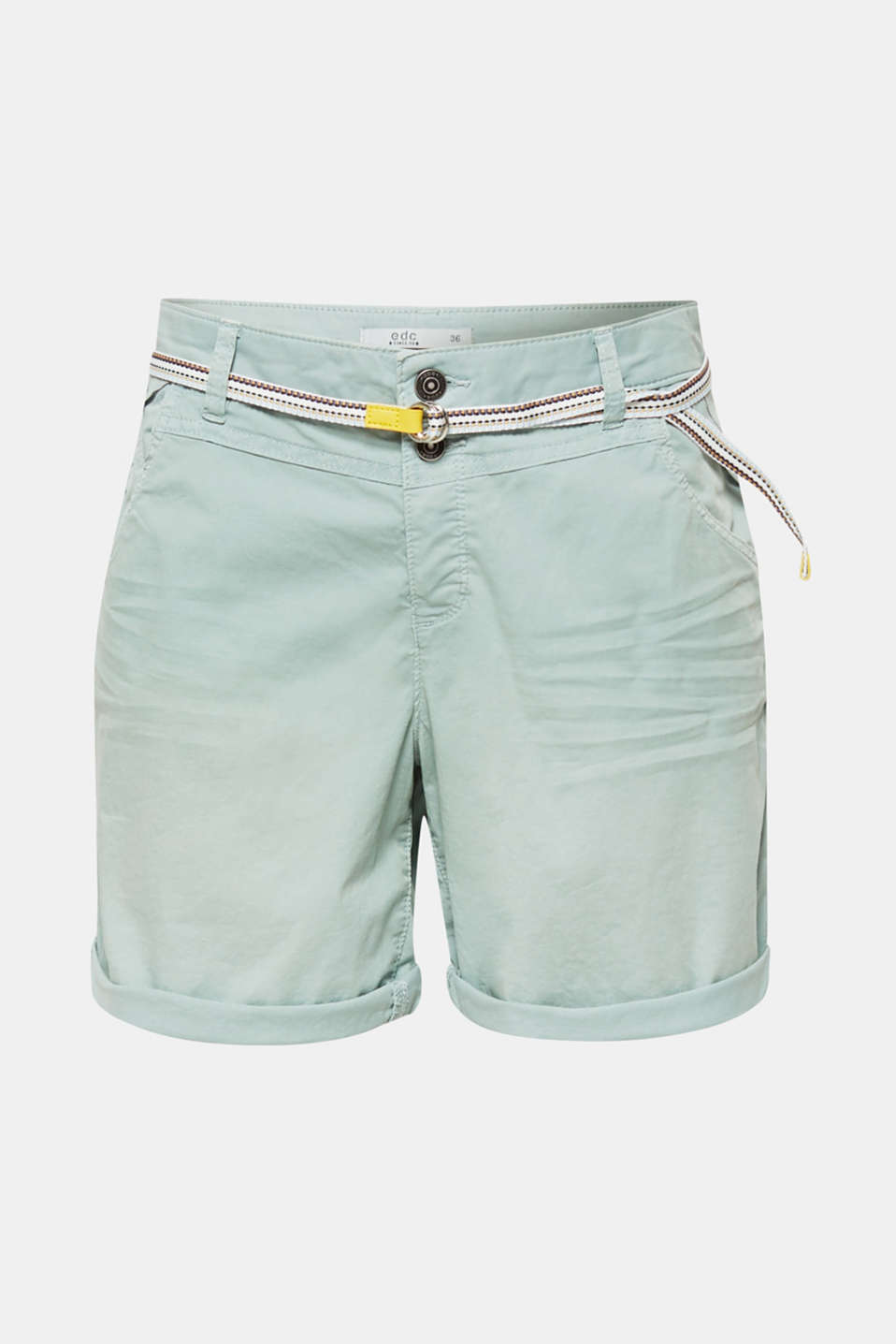 Shorts woven, DUSTY GREEN, detail image number 6