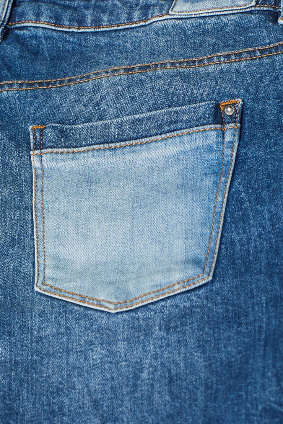Shorts denim, BLUE MEDIUM WASH, detail image number 3
