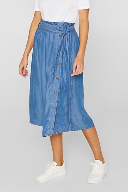 03956f50f Esprit: Faldas vaqueras - Comprar en la Tienda Online
