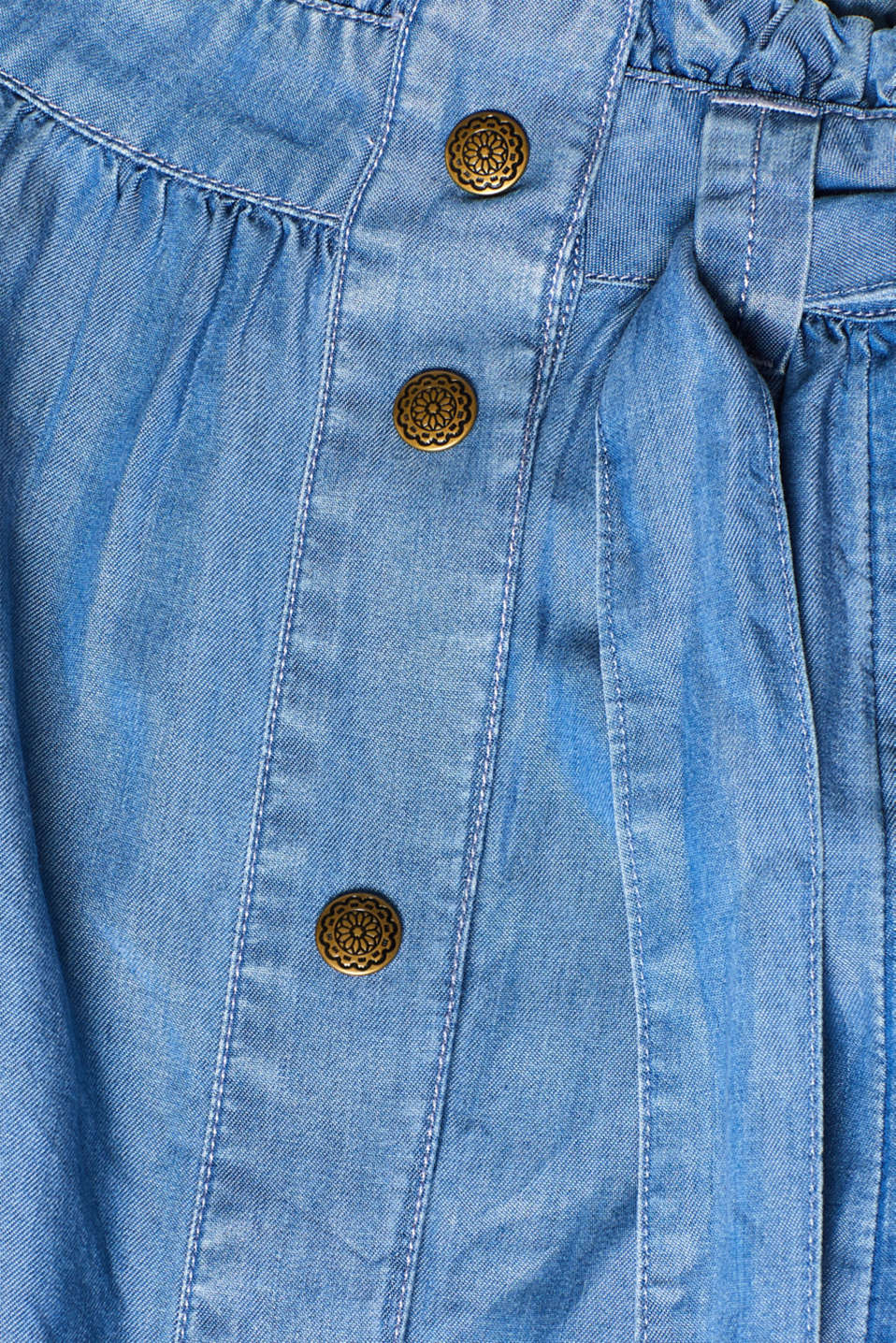 Skirts denim, BLUE MEDIUM WASH, detail image number 5