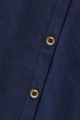 Midi length jersey skirt, 100% cotton
