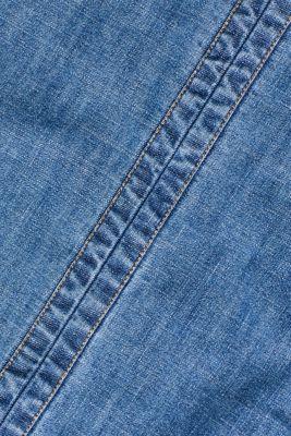 Denim dress in 100% cotton