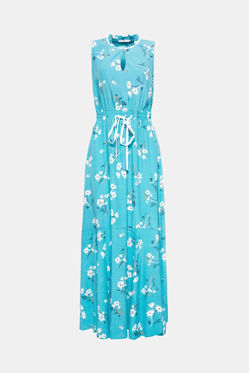 Dresses light woven, TEAL GREEN, detail image number 8