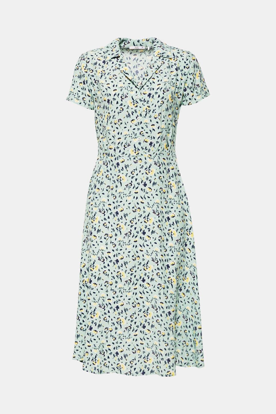 Dresses light woven, LIGHT AQUA GREEN, detail image number 6