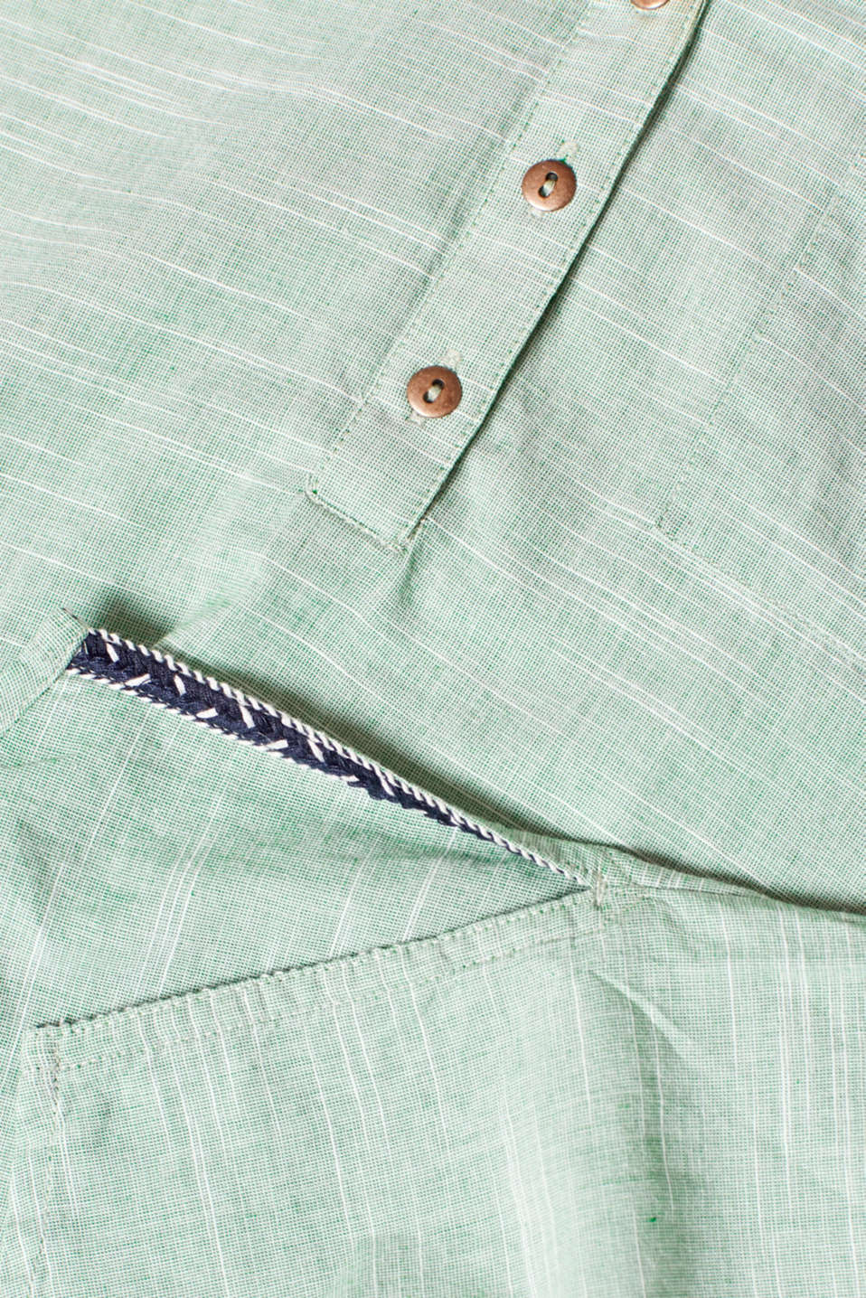 Blouses woven, DUSTY GREEN, detail image number 4
