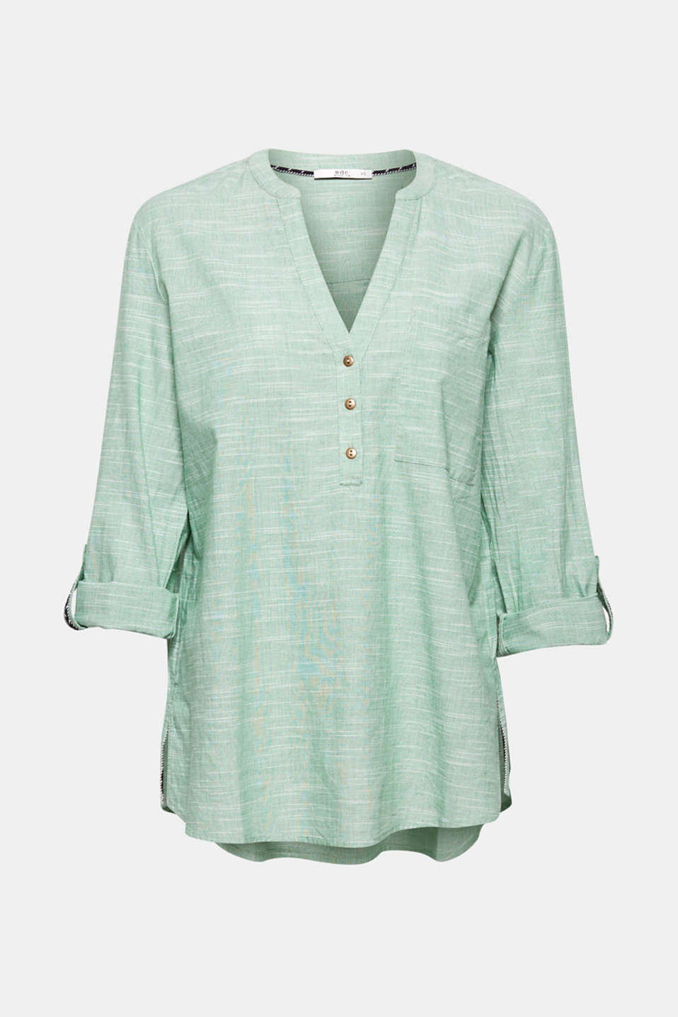 Blouses woven, DUSTY GREEN, detail image number 6