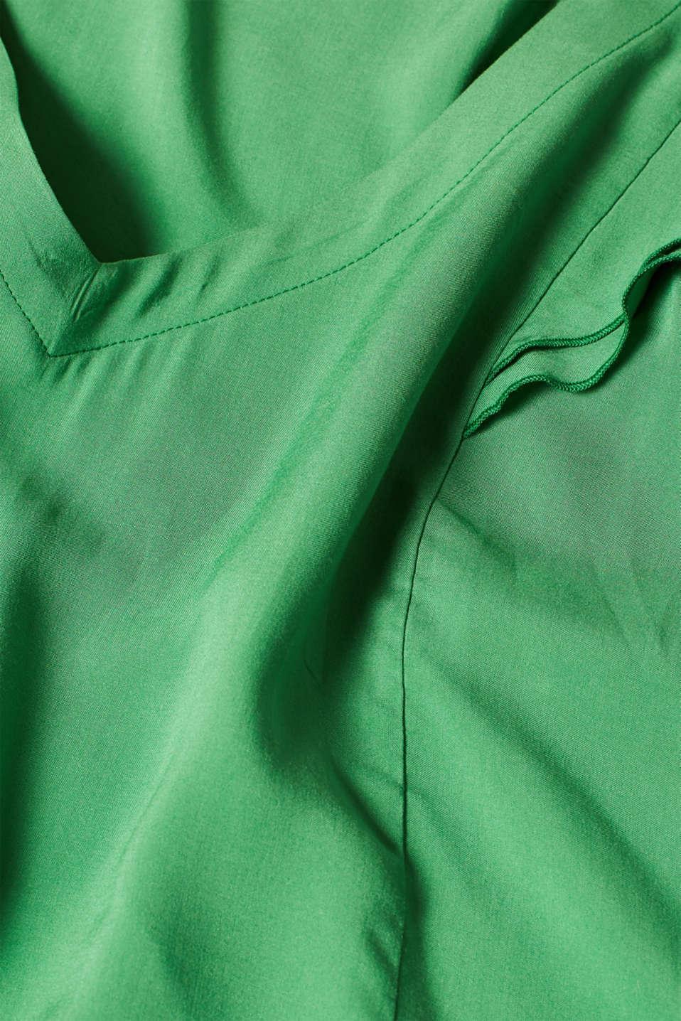 Blouses woven, DARK GREEN, detail image number 4