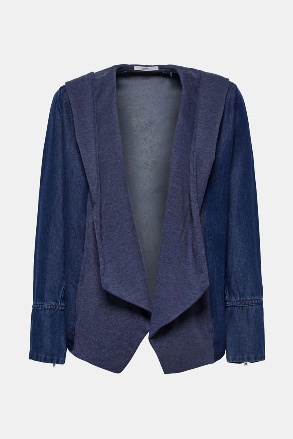 Jackets indoor woven, BLUE MEDIUM WASH, detail image number 6