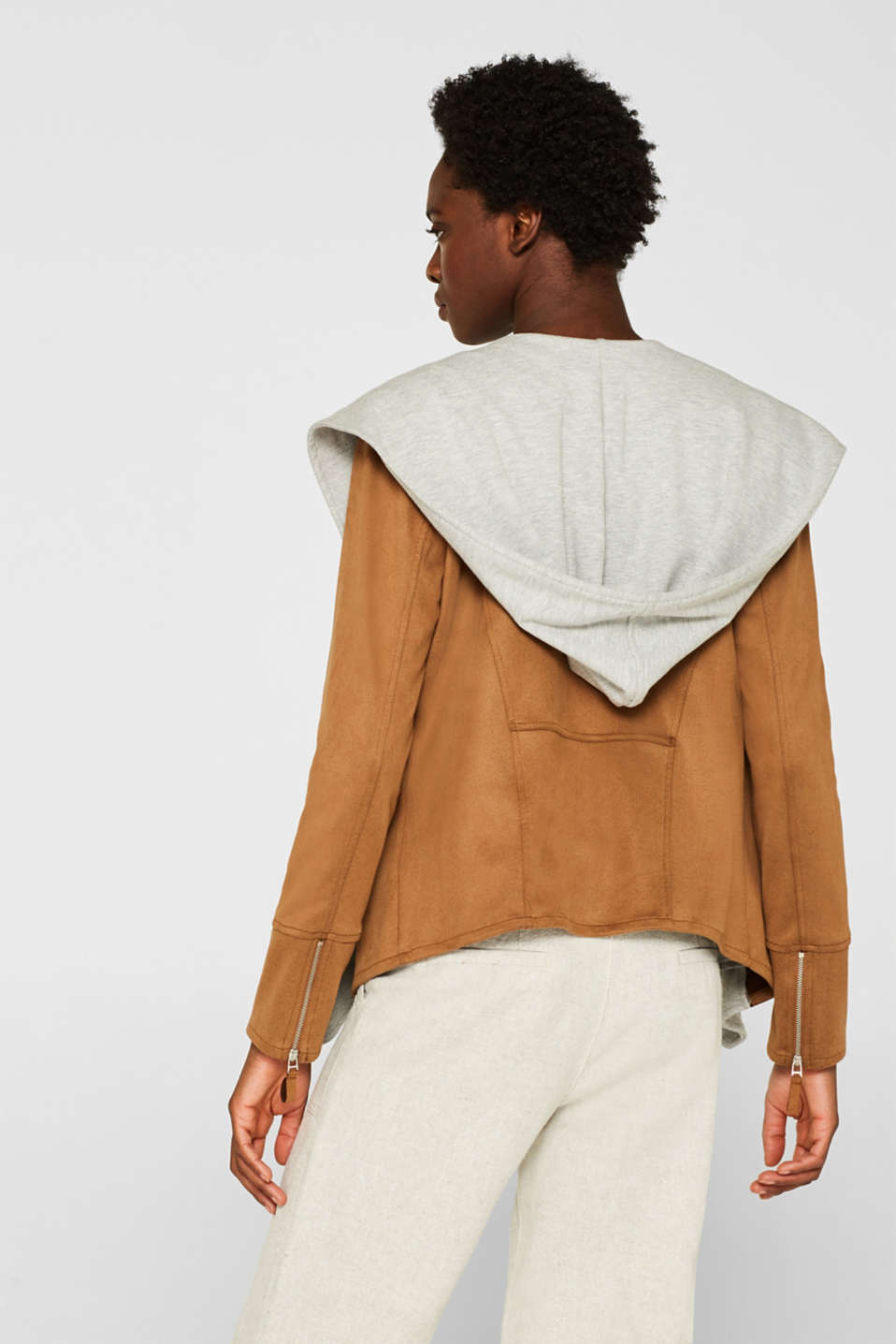 Jackets indoor woven, LIGHT TAUPE, detail image number 1