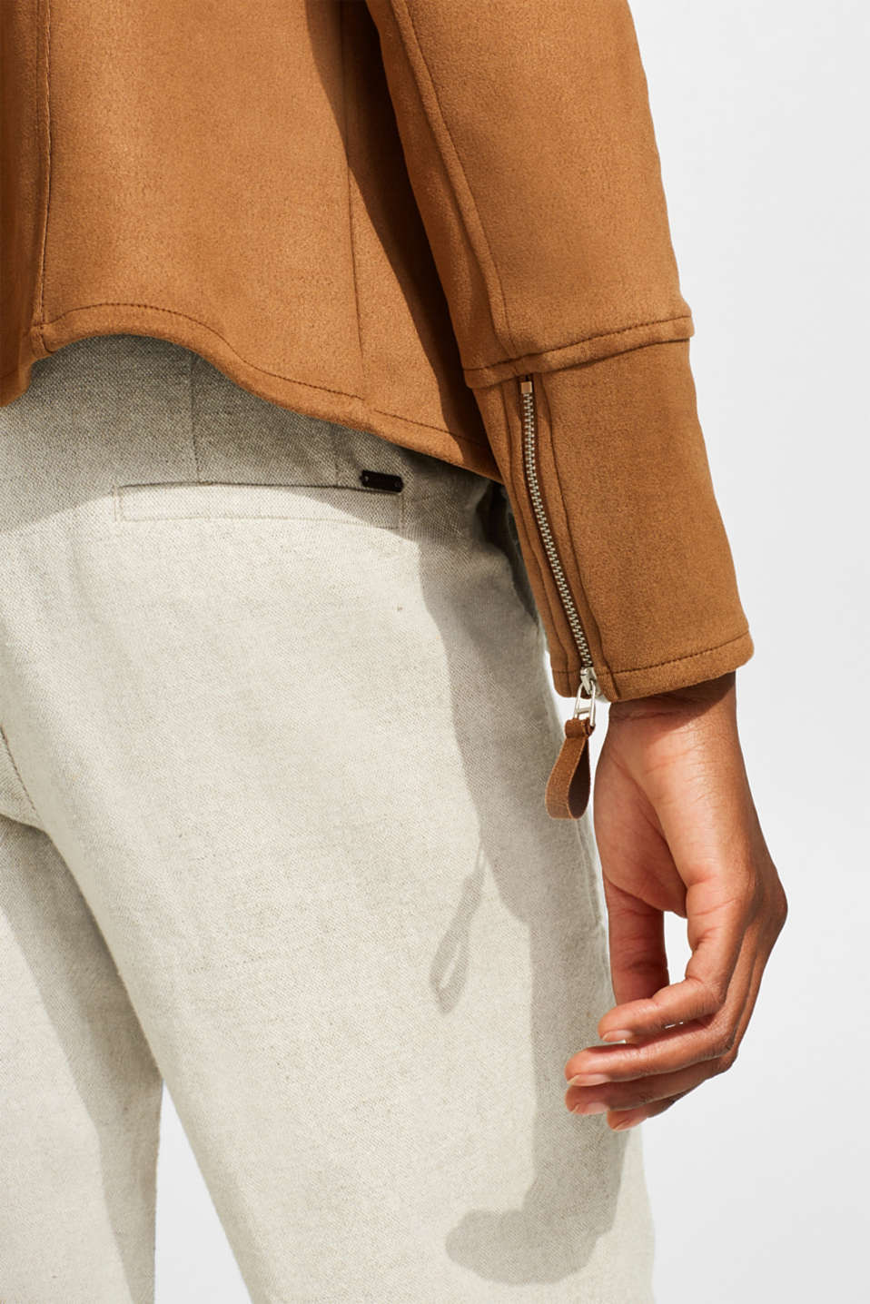 Jackets indoor woven, LIGHT TAUPE, detail image number 0