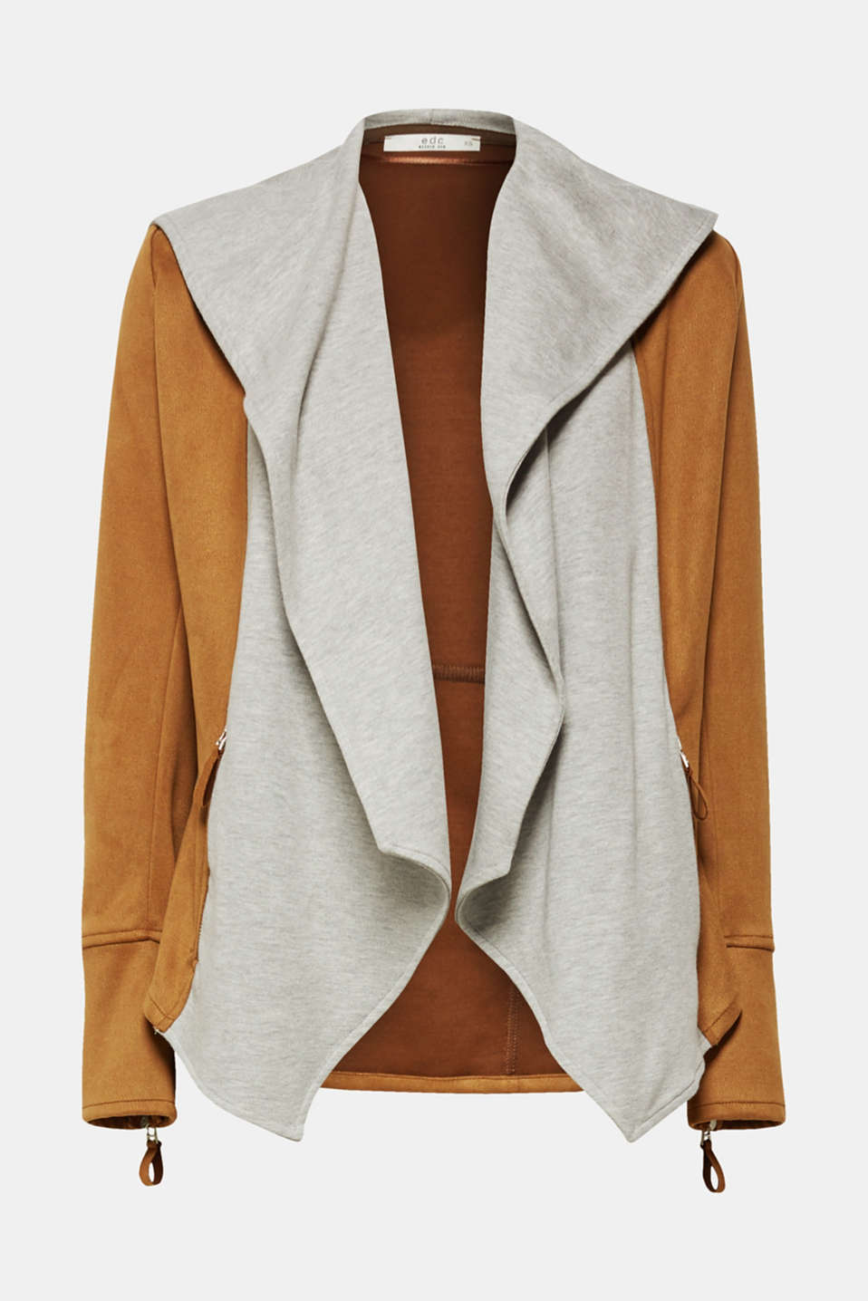 Jackets indoor woven, LIGHT TAUPE, detail image number 5
