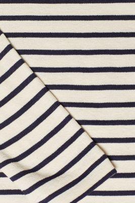 Lightweight sweatshirt with contrasting trim