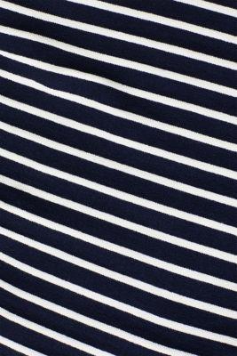 Textured sweatshirt with contrast trim