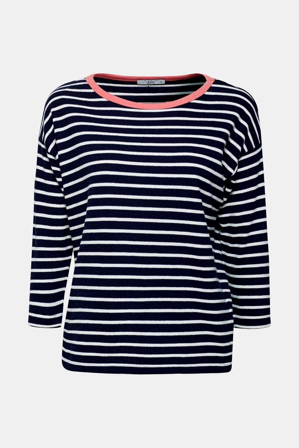 Sweatshirts, NAVY 2, detail image number 6