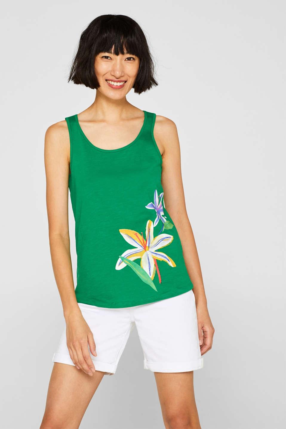 T-Shirts, DARK GREEN, detail image number 0