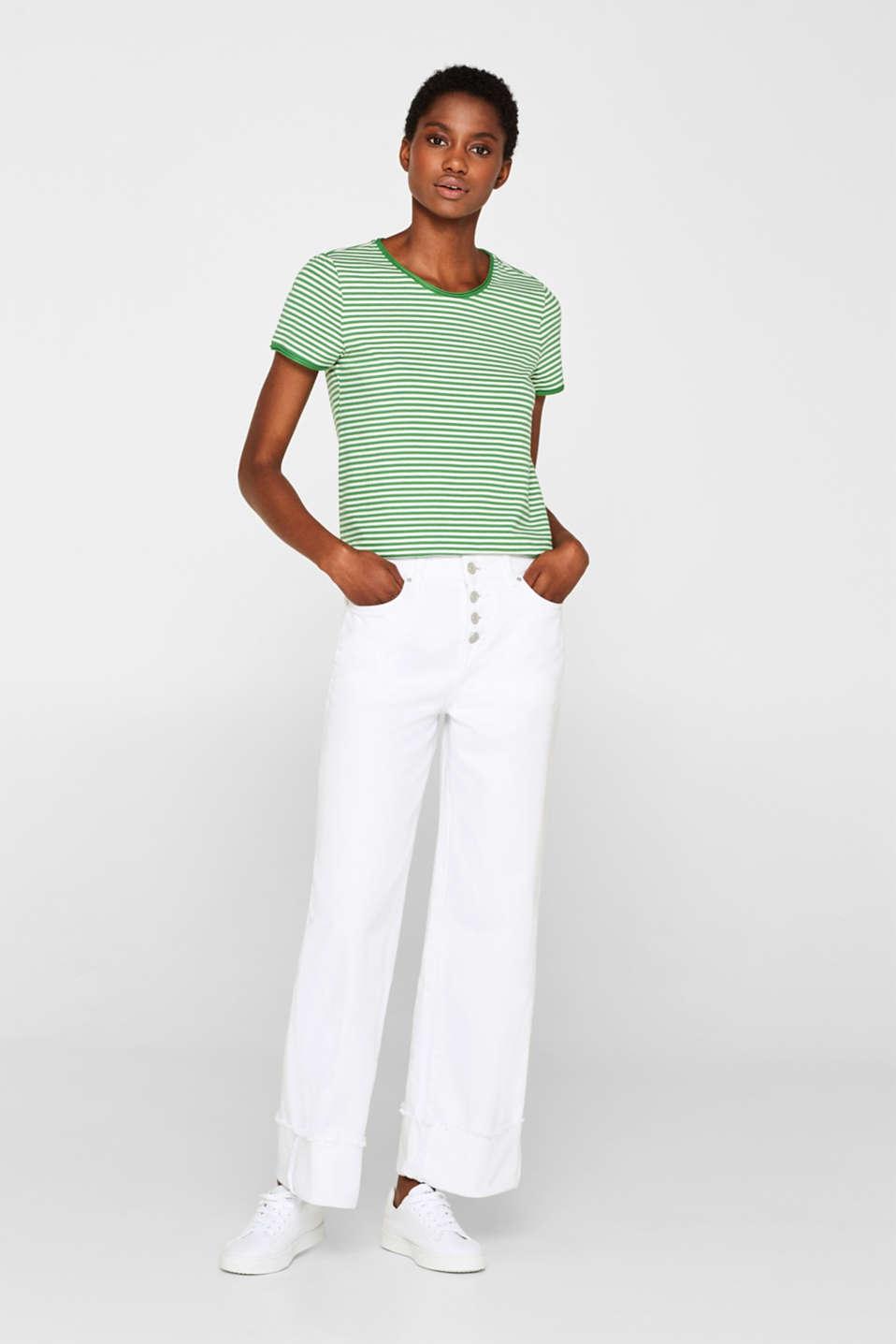 T-Shirts, DARK GREEN, detail image number 1