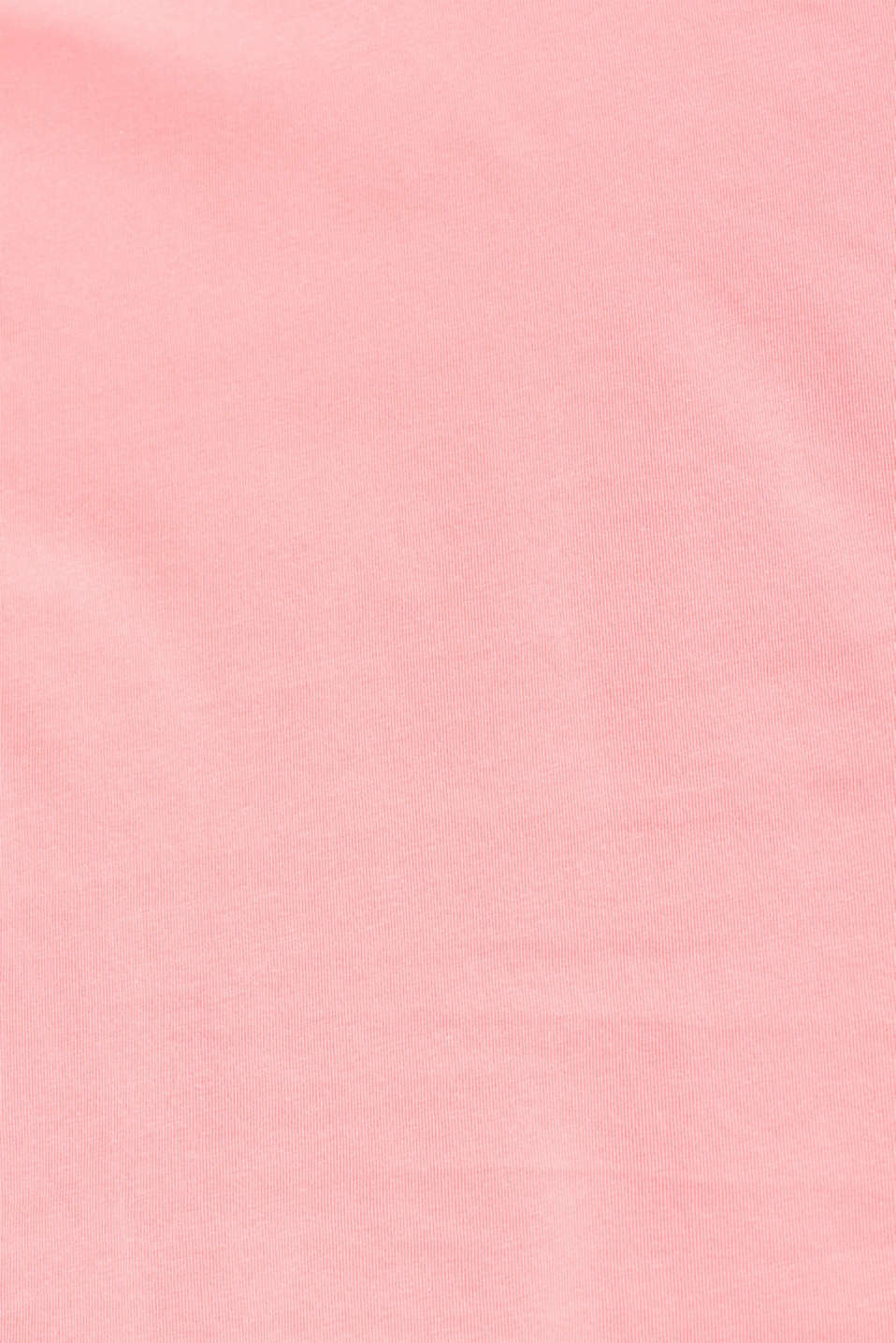 Stretch T-shirt with organic cotton, PINK, detail image number 4