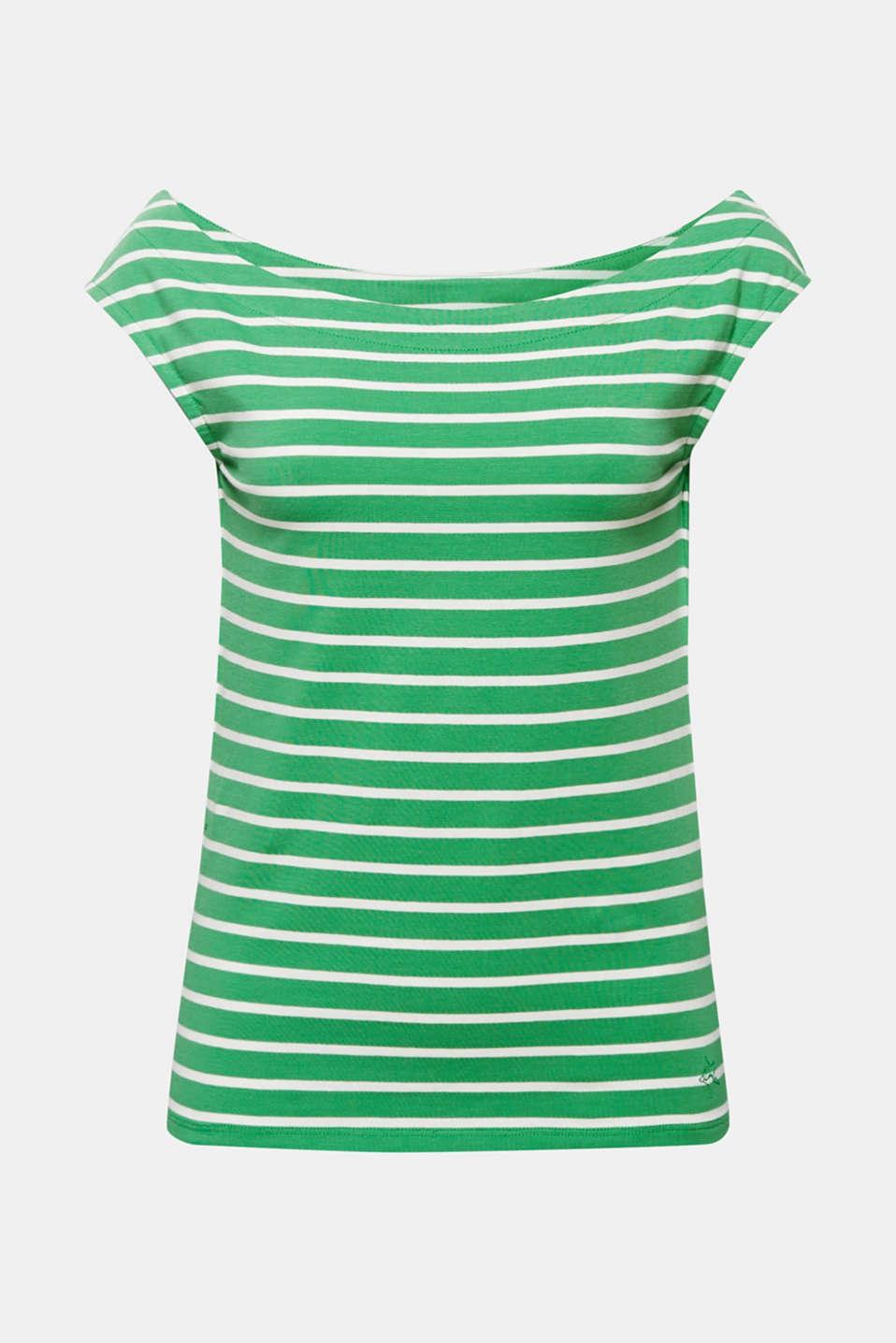 T-Shirts, DARK GREEN, detail image number 6