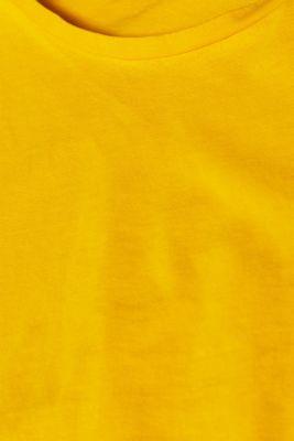 100% cotton oversized top, HONEY YELLOW 4, detail
