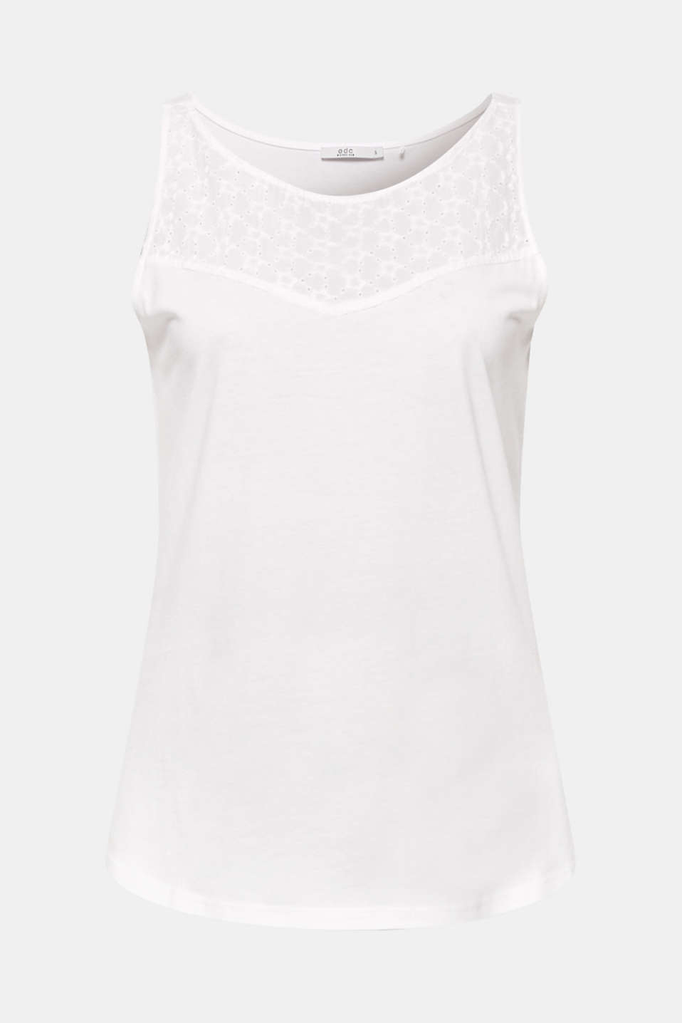 T-Shirts, WHITE, detail image number 6