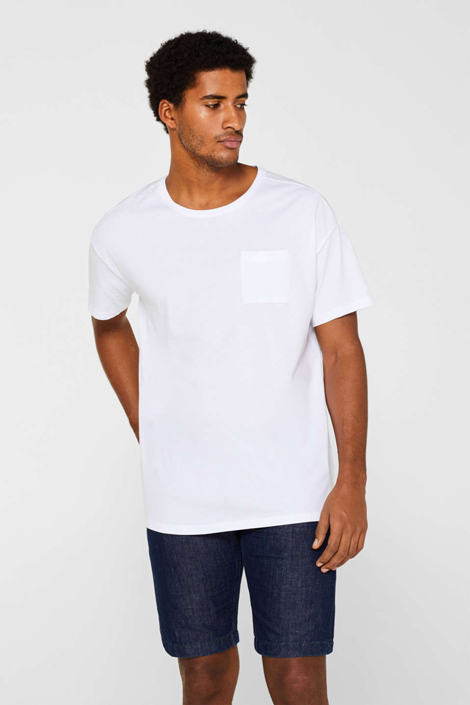 edc - Oversized T-shirt in cotton jersey