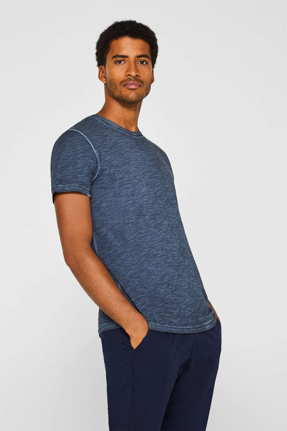 edc - Slub jersey T-shirt in 100% cotton