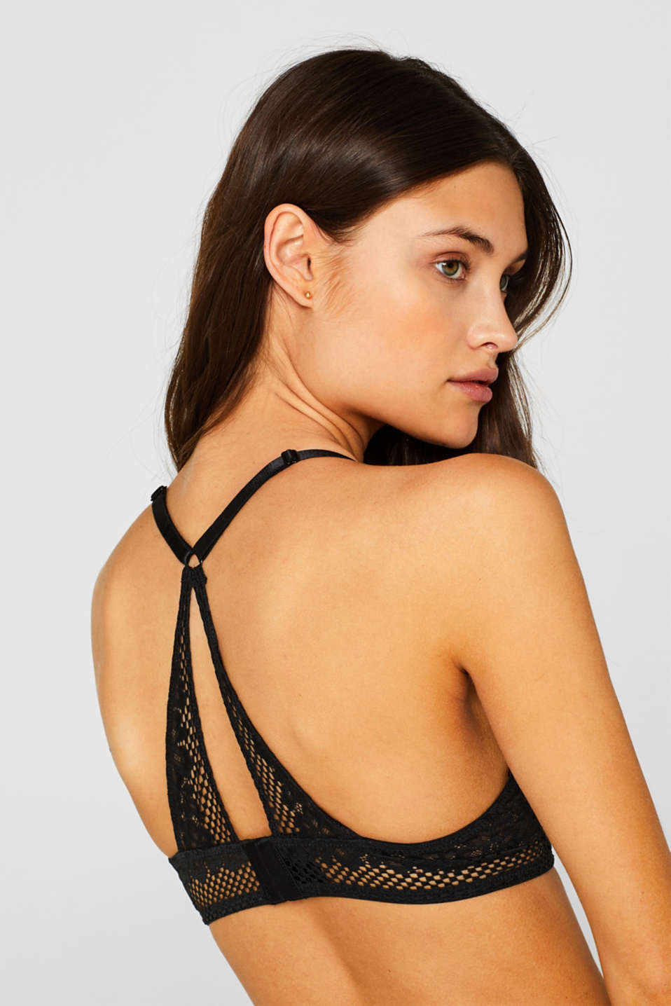 Bras with wire, BLACK, detail image number 3