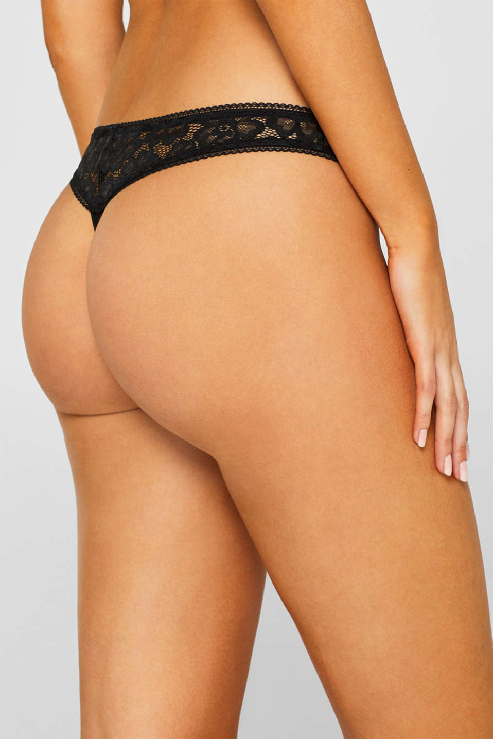 Bottoms, BLACK, detail image number 3