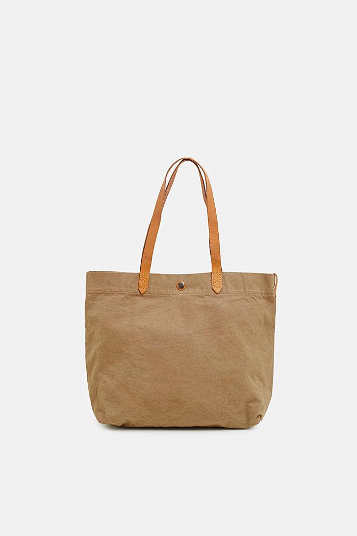 Canvas-Shopper aus 100% Baumwolle