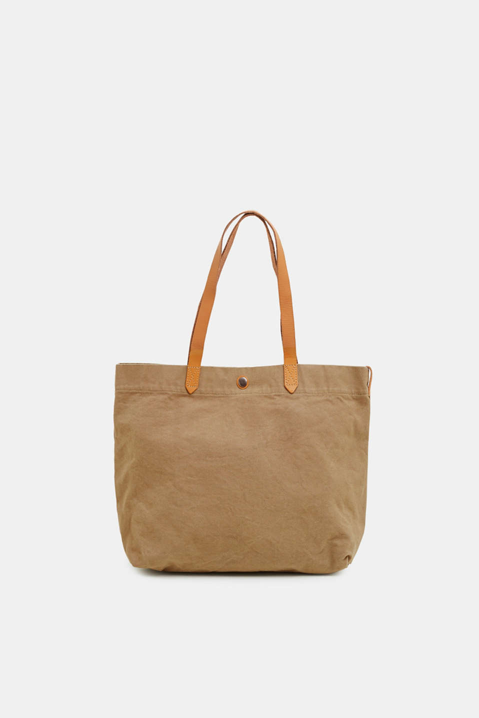 Esprit - Canvas shopper made of 100% cotton