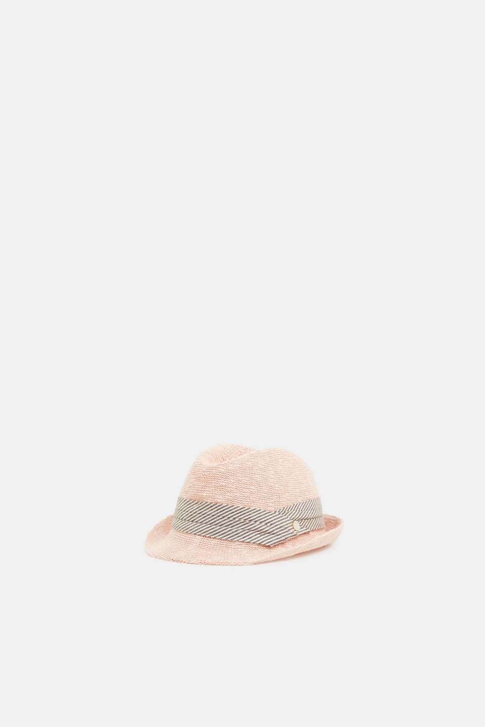 Esprit - Knitted trilby with patterned headband