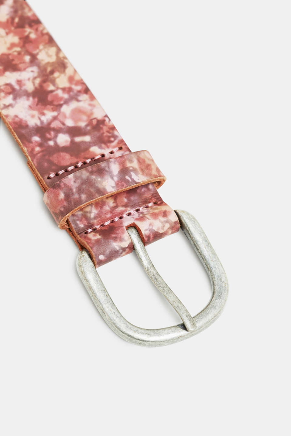 Belts leather, PINK FUCHSIA, detail image number 1