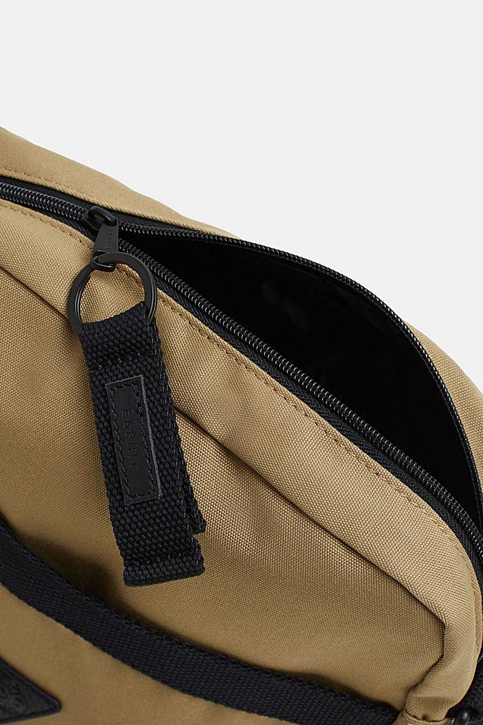 Schultertasche aus Nylon, BEIGE, detail image number 3