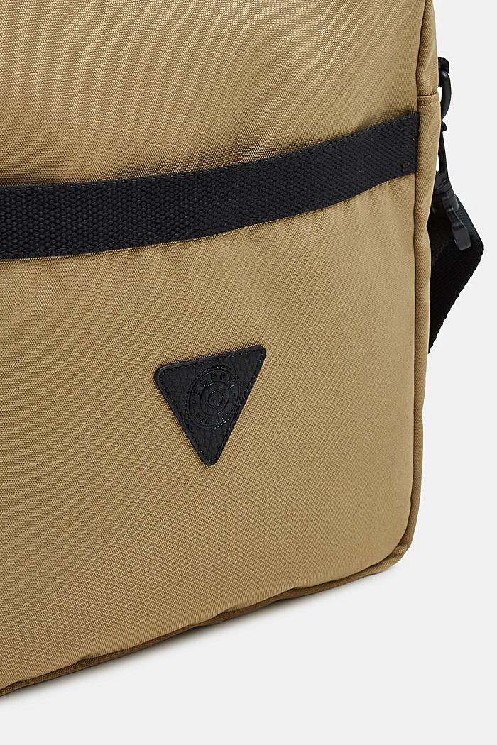 Schultertasche aus Nylon, BEIGE, detail image number 2