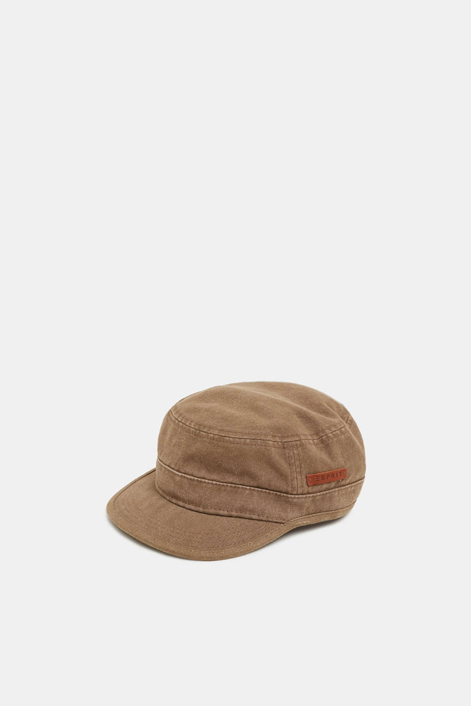 Esprit - Cuban cap in cotton canvas