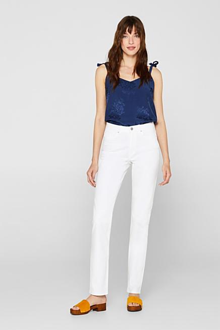 5249d09e Esprit jeans med lige snit til damer i Esprits Online-Shop