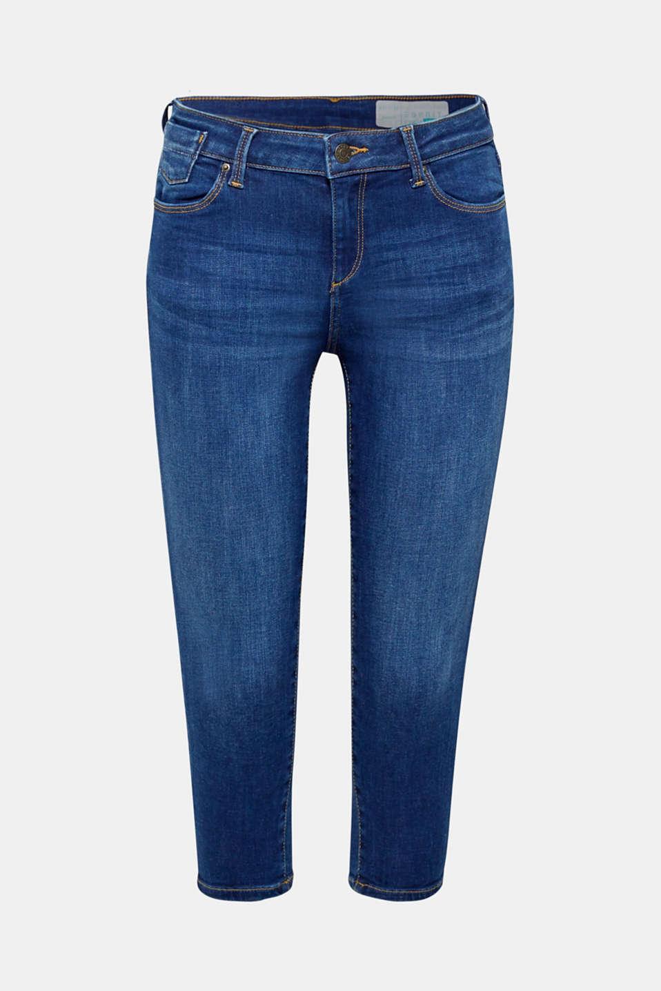 Pants denim, BLUE MEDIUM WASH, detail image number 8