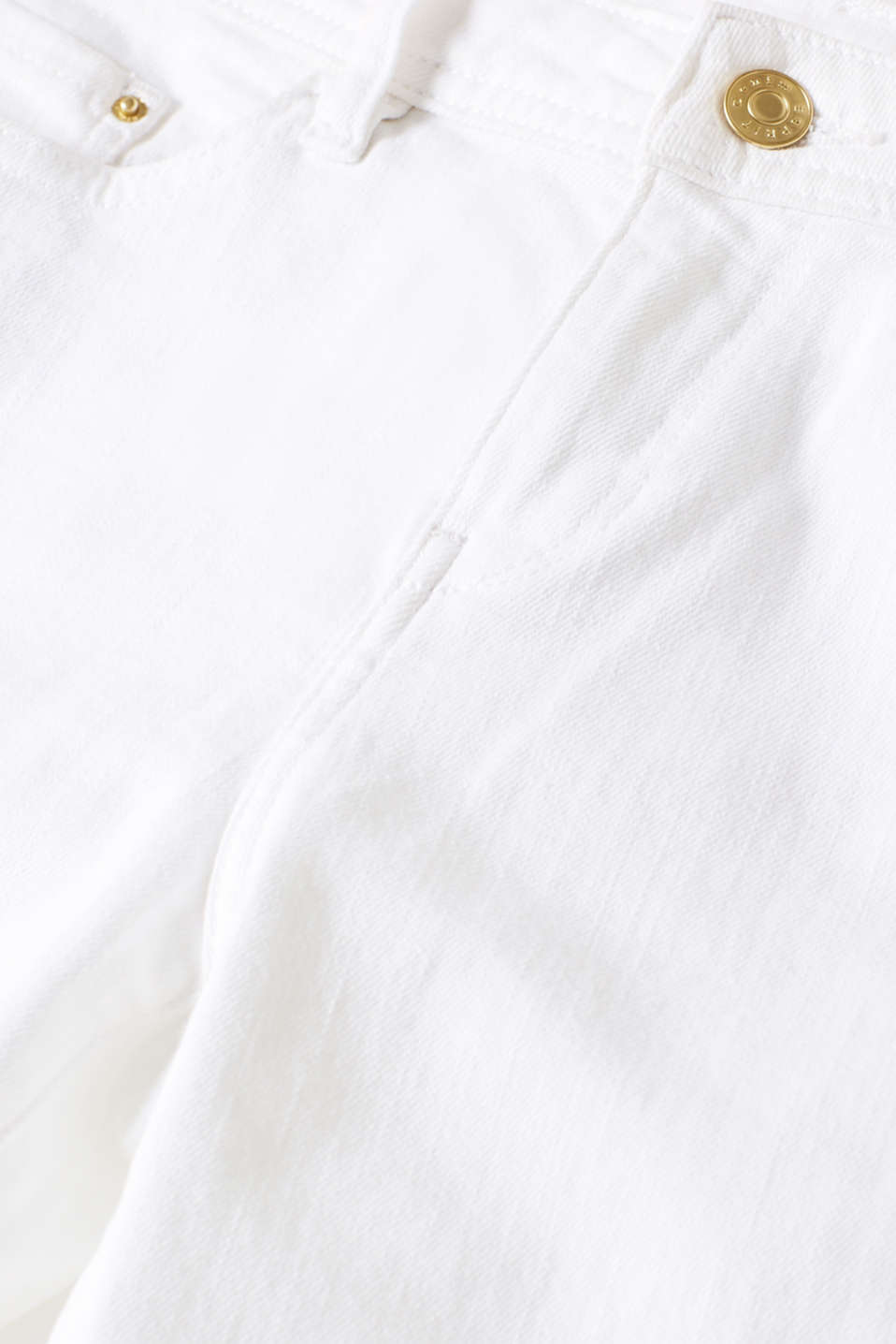 Pants denim, WHITE, detail image number 4