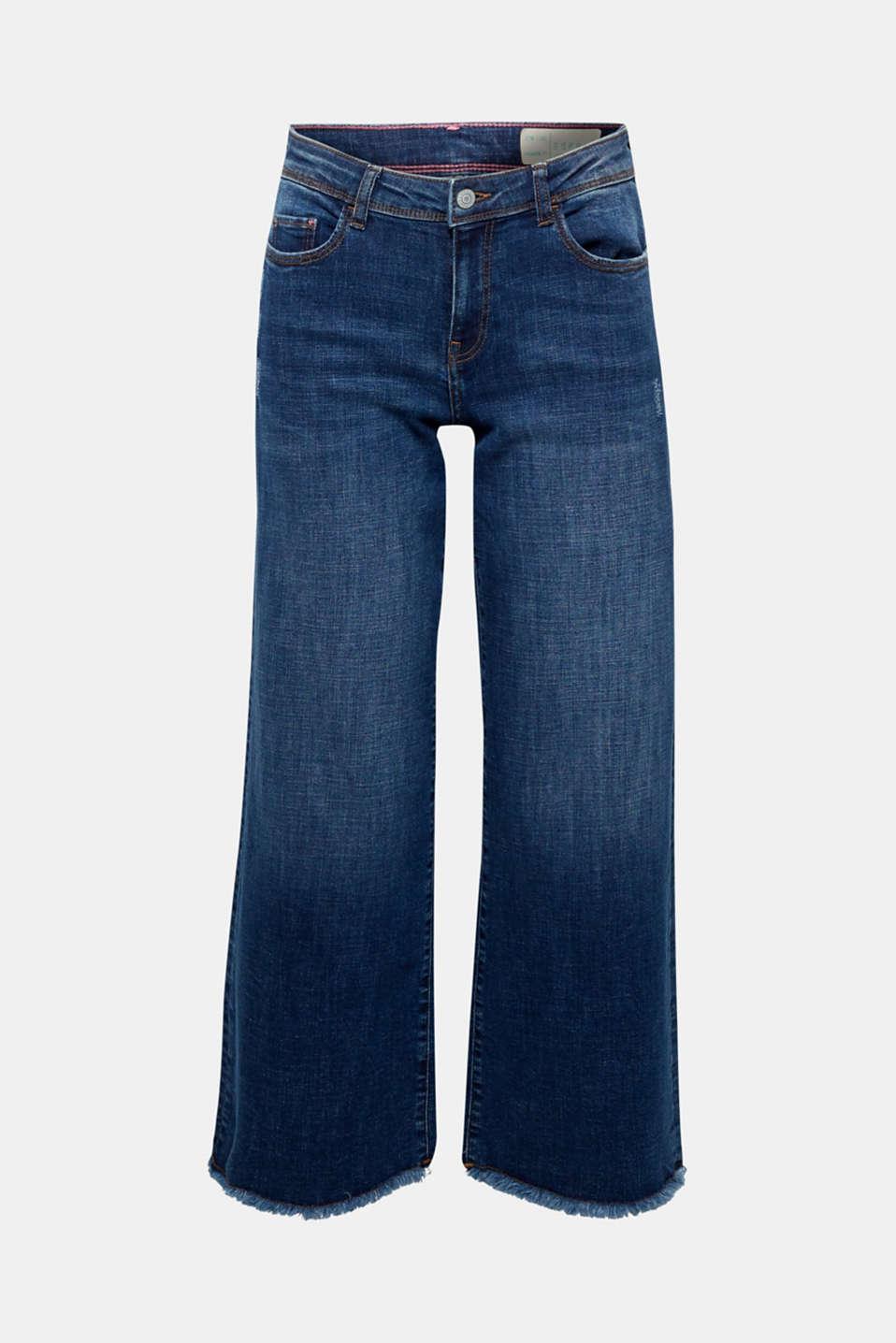 Pants denim, BLUE MEDIUM WASH, detail image number 6
