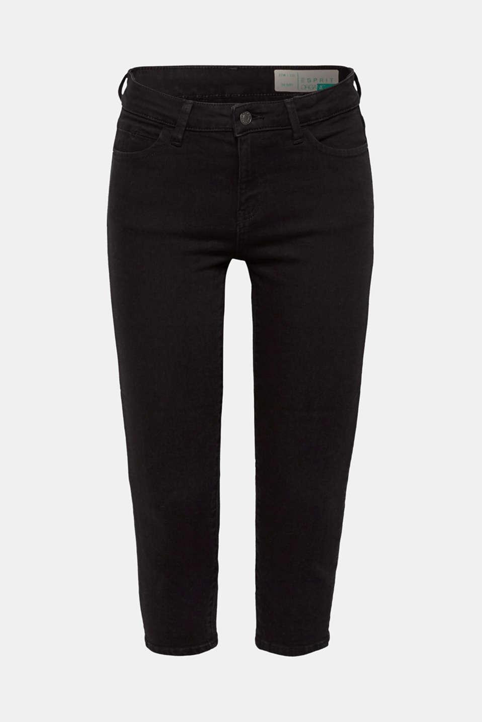 Pants denim, BLACK RINSE, detail image number 8