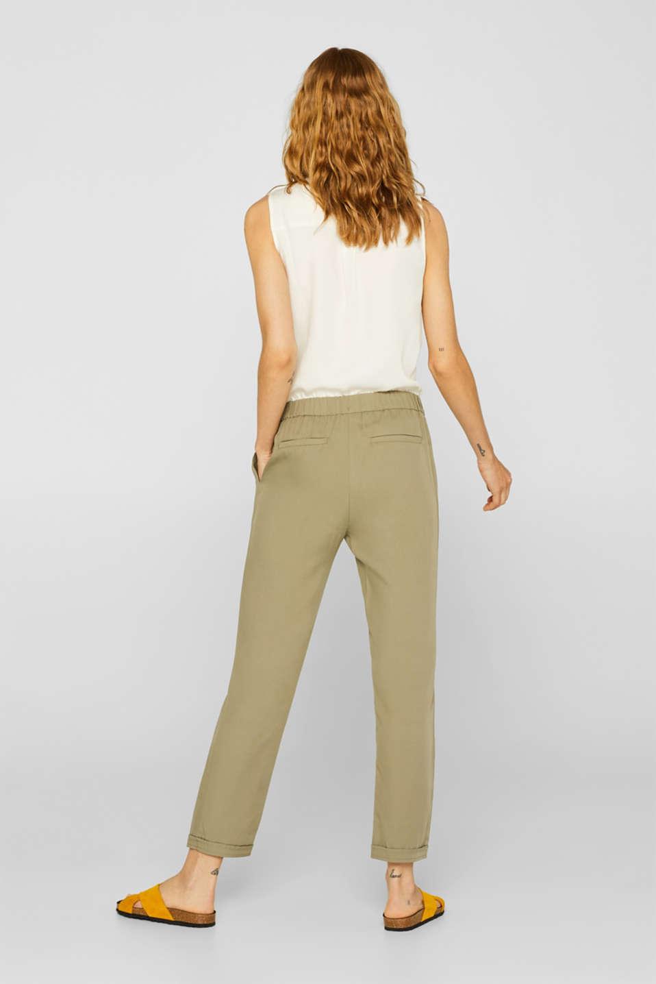 Pants woven, LIGHT KHAKI, detail image number 3