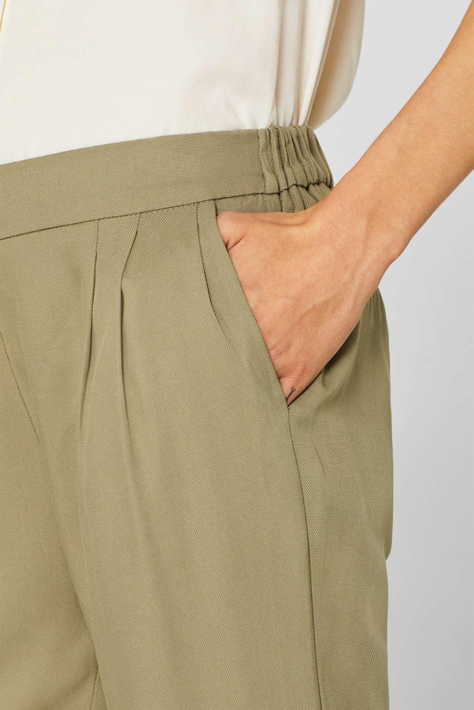 Pants woven, LIGHT KHAKI, detail image number 2