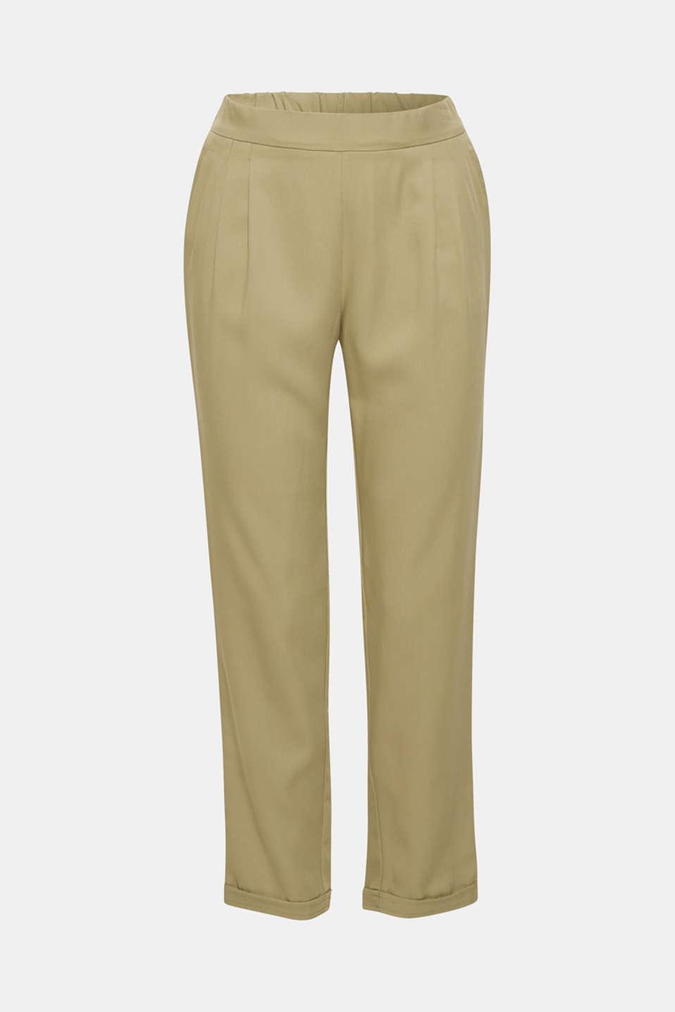 Pants woven, LIGHT KHAKI, detail image number 7