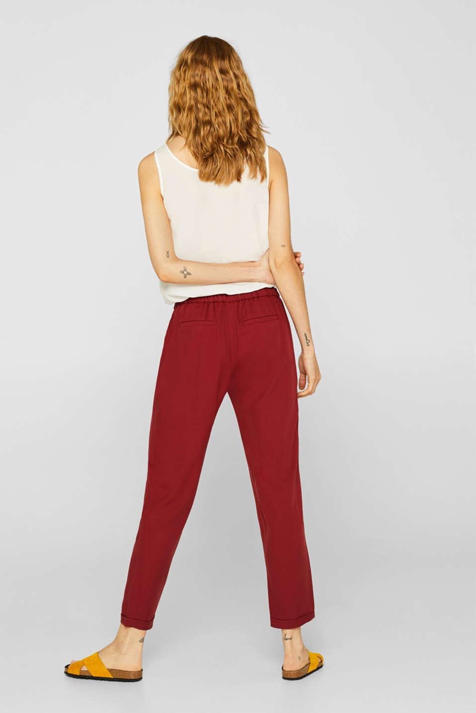 Pants woven, BLUSH, detail image number 3