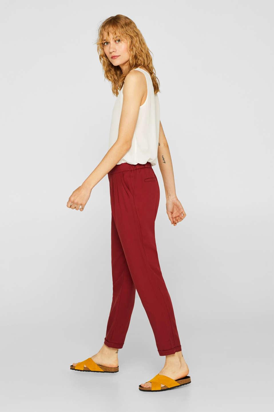 Pants woven, BLUSH, detail image number 5
